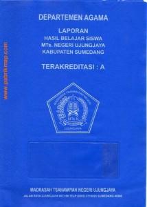 sampul raport standar depag