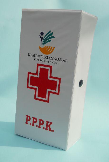 Kotak PPPK atau P3K Bahan plastik Ase/Spon