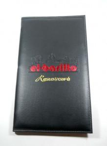 sampul buku menu restoran