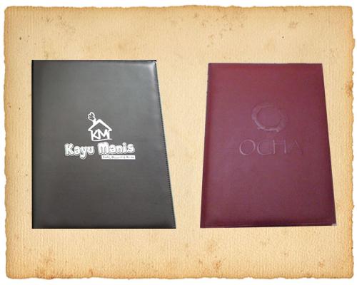 cover buku menu, cover buku menu restoran, jual cover buku menu